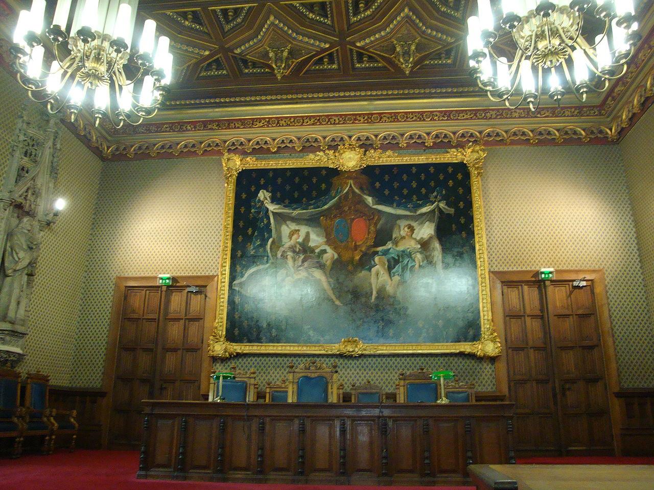 Palais de Justice de Rouen - photo : Philippe Roudaut -CC )